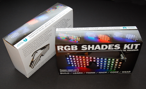 RGB Shade retail package